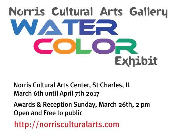 Norris Cultural Arts Center Exhibit @ Norris Cultural Arts Center | St. Charles | Illinois | United States