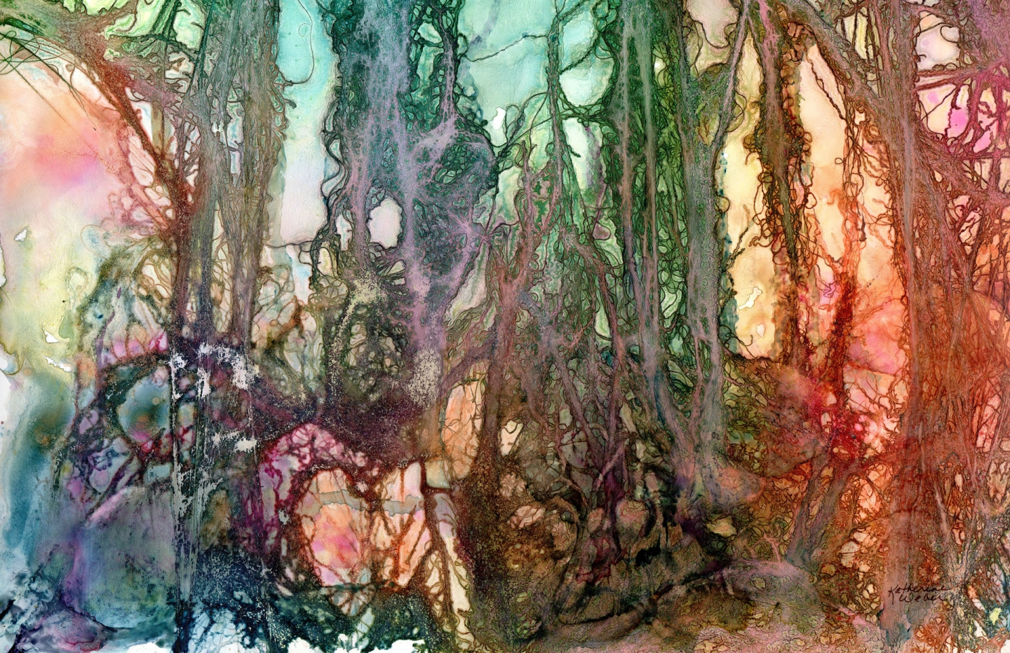Outstanding Abstract/Non-Repres Hedgerow Katherine Weber